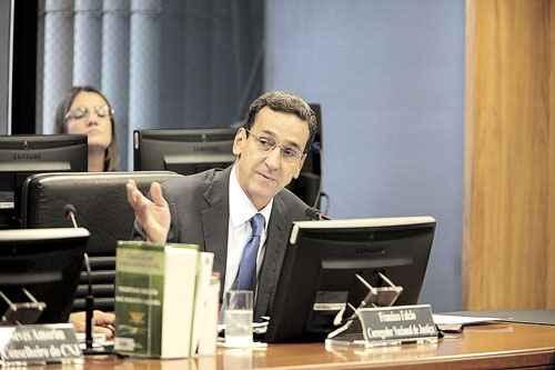 Francisco Falcão, corregedor do CNJ, diz que, em outros países, juízes podem ser presos por receberem presentes (Gil Ferreira/Agência CNJ)