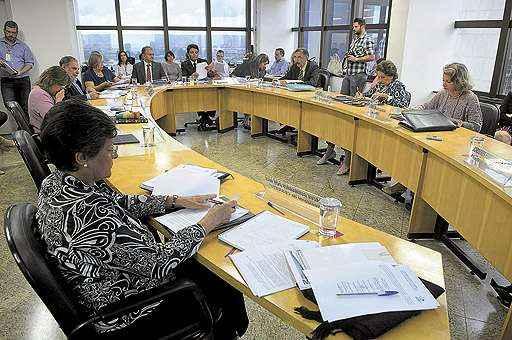 Em reunião realizada na última terça-feira, sete dos 10 integrantes do Conselho de Educação do DF rejeitaram a proposta do governo (Daniel Ferreira/CB/D.A Press)
