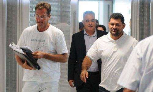 Além de ter que ressarcir os cofres públicos, os direitos políticos de Roney Nemer (E) e Aylton Gomes (D) foram suspensos por 10 anos (Cadu Gomes/CB/D.A Press)