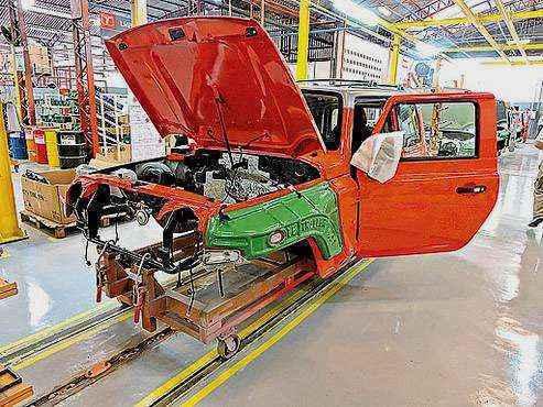 Alta do setor automotivo em julho alimenta esperanças  (Breno Fortes/CB/DA Press - 17/2/14)
