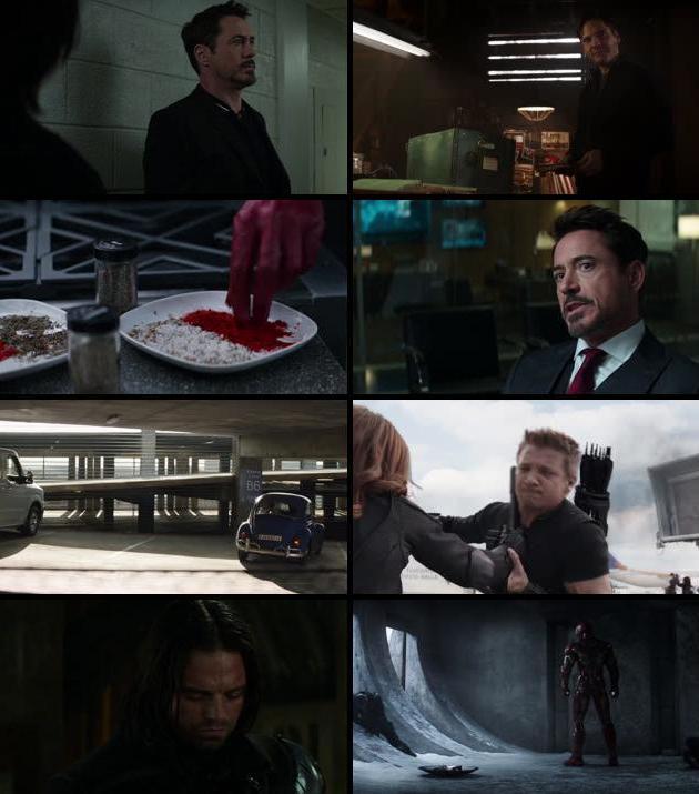 Captain America Civil War 2016 Dual Audio ORG Hindi 720p BluRay