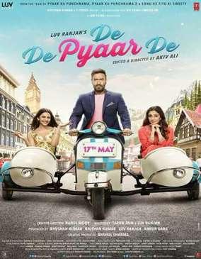 De De Pyaar De 2019 Hindi Movie 350MB HDRip 480p Download