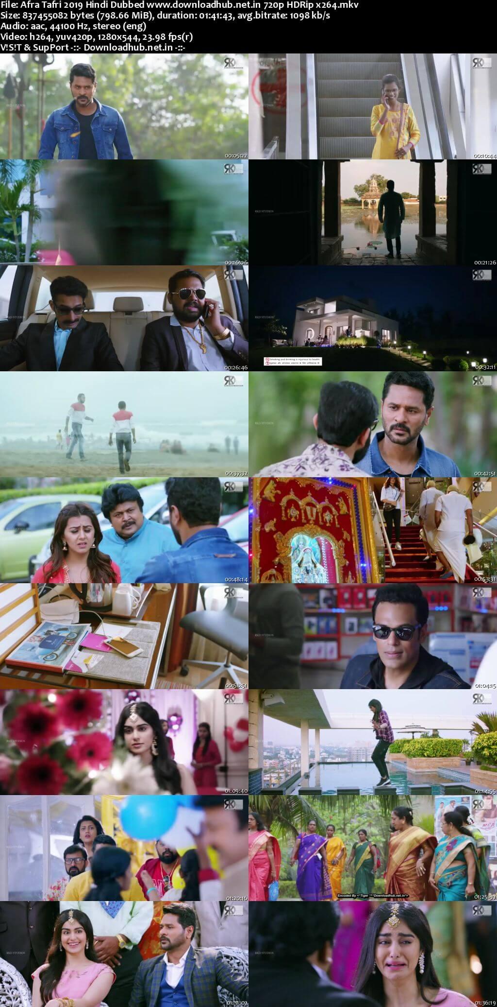 Download Afra Tafri 2019 Hindi Dubbed Movie 720p HDRip