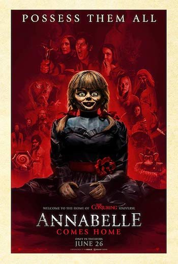 Annabelle Comes Home 2019 Dual Audio Hindi Movie Download