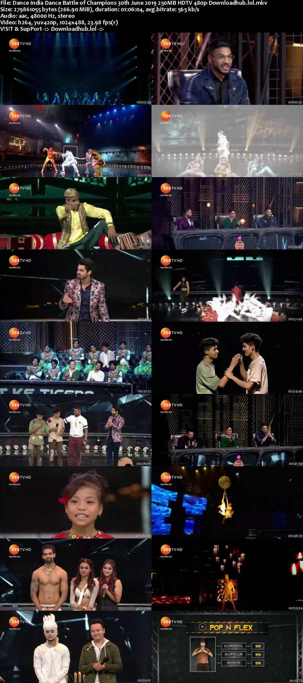 Dance India Dance Battle of Champions 30th June 2019