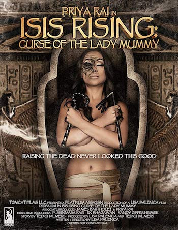 Curse of the Lady Mummy 2013 Hindi Dual Audio 280MB BluRay