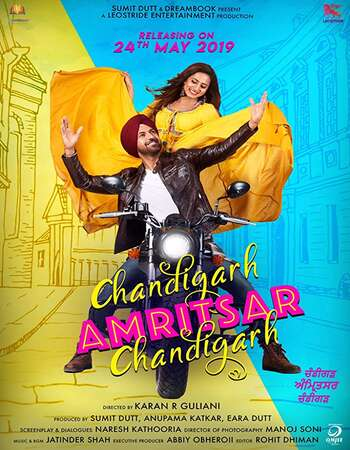 Chandigarh Amritsar Chandigarh 2019 Punjabi Movie 720p HDRip ESubs