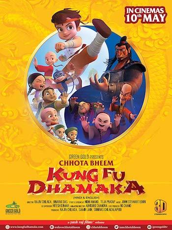 Chhota Bheem Kung Fu Dhamaka 2019 Hindi 720p HDRip ESubs Download