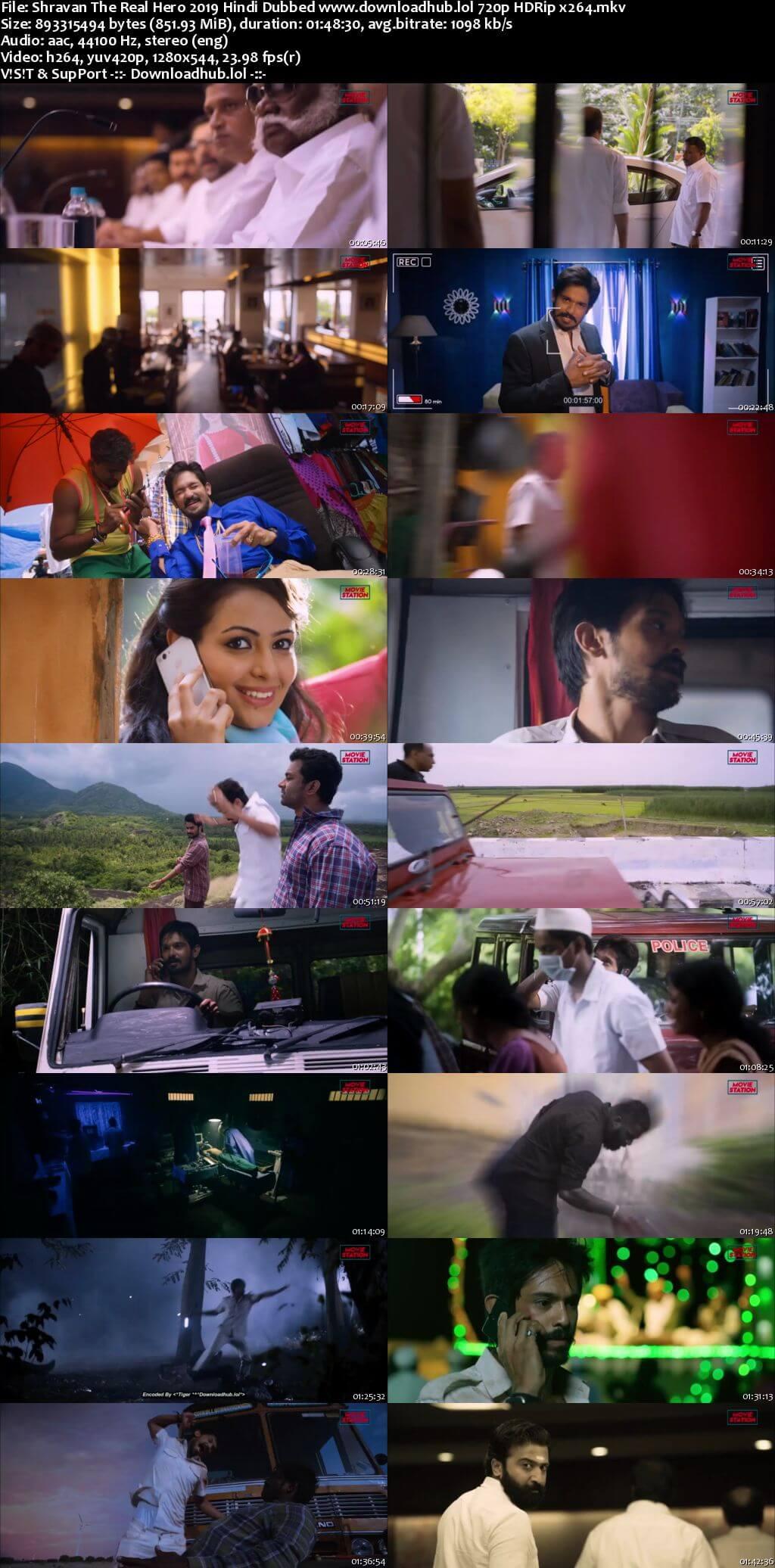 Shravan The Real Hero 2019 Hindi Dubbed Movie 720p HDRip Download