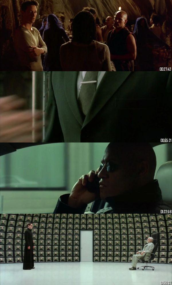 The Matrix Reloaded 2003 BRRip 720p 480p Dual Audio Hindi English Full Movie Download
