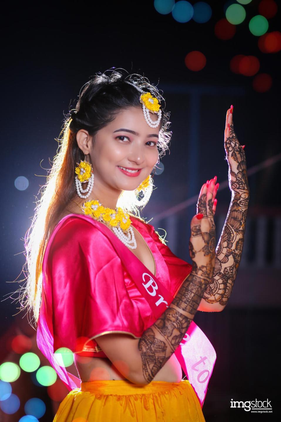 Sandhya Mehendi - Mehendi photoshoot, ImgStock