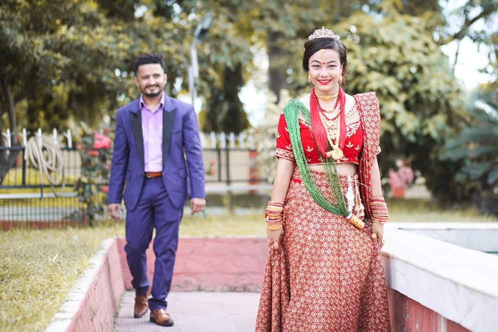 Ashma weds Rabin - Imgstock, Biratnagar