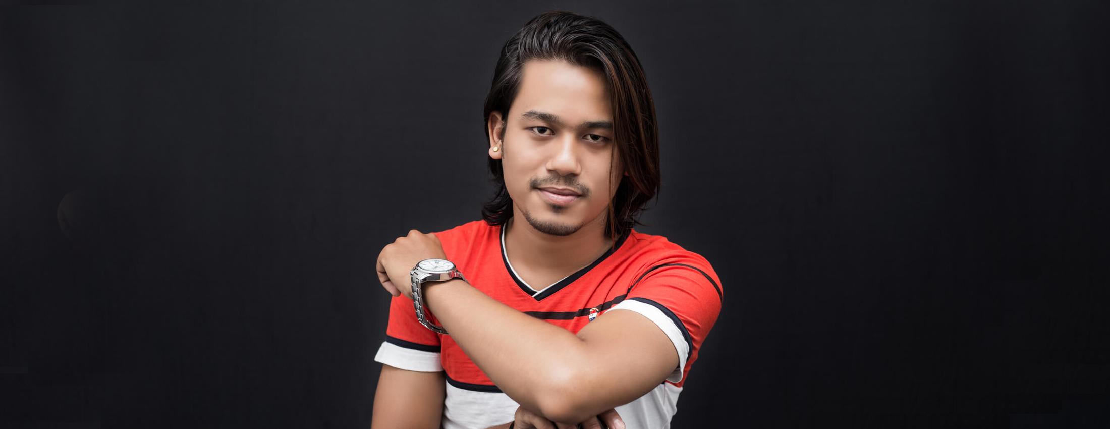 Suraj Bhujel - Modeling Photoshoot, Imgstock