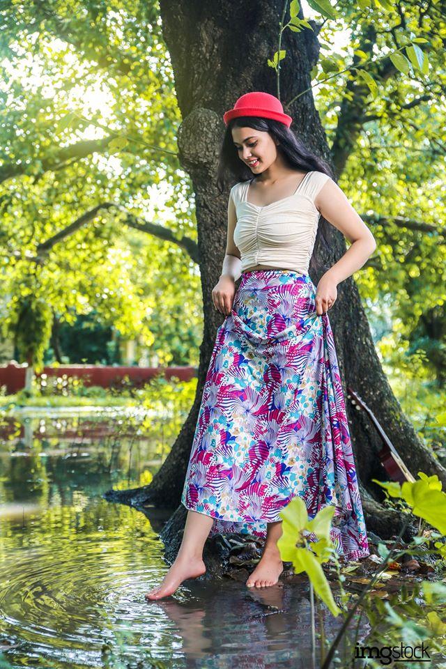 Artima Basnet - Modeling photoshoot, ImgStocka