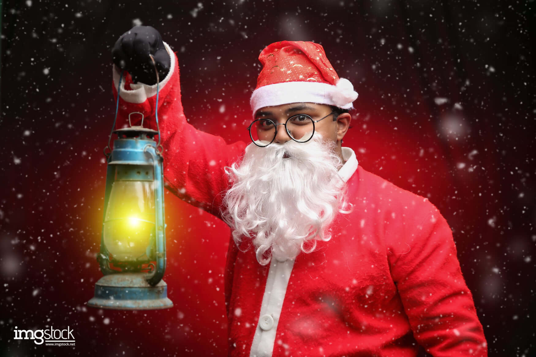 Karan Soni - Christmas Photoshoot, ImgStock