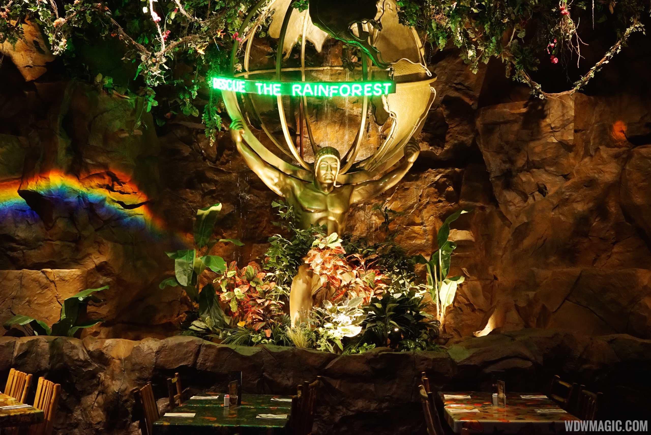 Rainforest Cafe Disneys Animal Kingdom