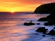 Pacific Sunset, Gaviota State Park, California -.jpg image hosted at ImgTaxi.com