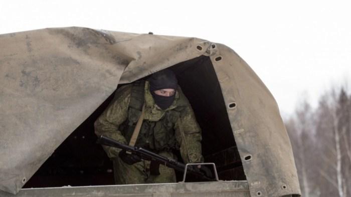 Под Минском показали эпизод вывода советских войск из Афганистана