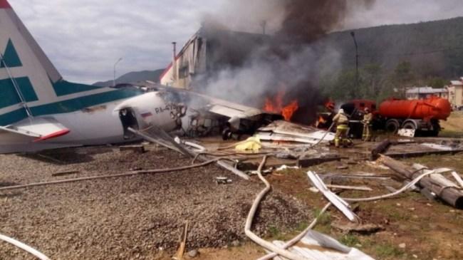 Авария в Нижнеангарске: самолет Ан-24 эксплуатировался 42 года