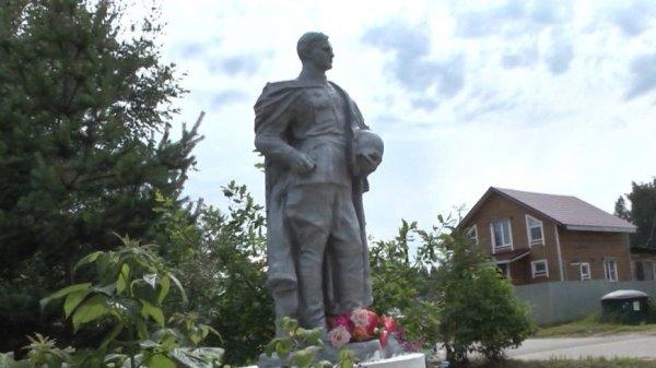 Памятник с историей: в Яснищах отреставрировали монумент ...
