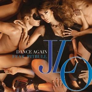 Capa do single Dance Again, de Jennifer Lopez (29/3/12)
