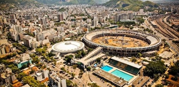 A reforma no Estádio Mário Filho, o Maracanã, no Rio de Janeiro, já está 50% concluída