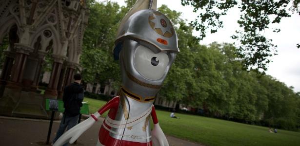 Mascotes da Olimpíada e da Paraolimpíada de Londres foram espalhadas pela cidade