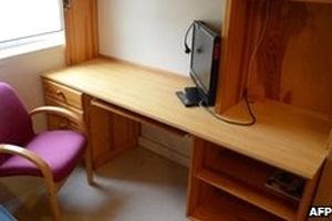 Dormitório de Breivik na prisão tem oito metros quadrados e televisor