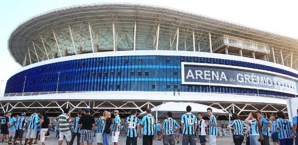 Para garantir a presença de sócios na Arena, o Grêmio pagará R$ 42 milhões anuais