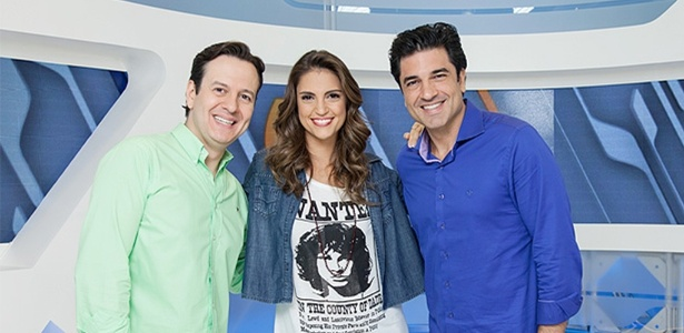 Celso Zucatelli, Chris Flores e Edu Guedes terão um programa à tarde na RedeTV!