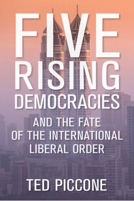 Brasil é um dos 5 países que vão definir o futuro da democracia, diz livro