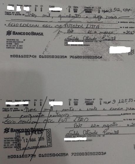 Pagamentos feitos por Nailde por usar a marca do SPFC não são para o clube