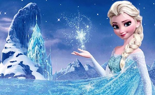 Elsa e o castelo superfaturado: luxo sustentado pelo desvio de gelo que iria para a merenda de crianças pobres da periferia de Arendelle