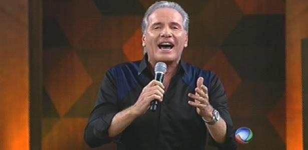 """Roberto Justus na apresentação da última """"Fazenda"""""""