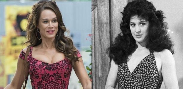 Duas versões de Tancinha: Mariana Ximenes e Cláudia Raia