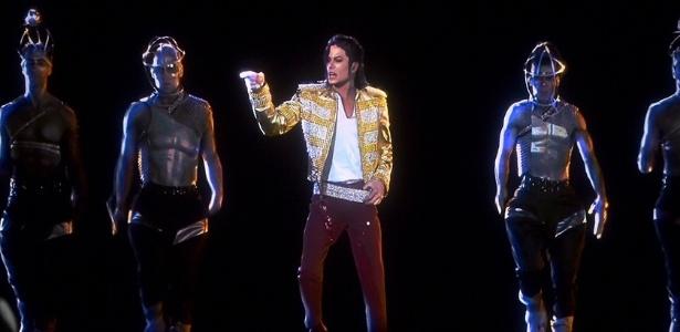 Holograma de Michael Jackson no prêmio Billboard 2014