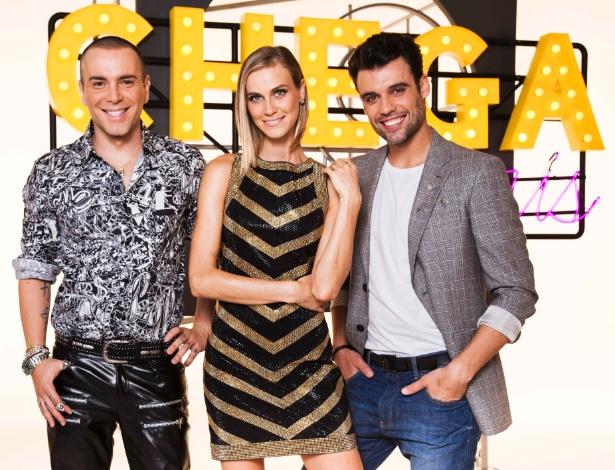 """Adriano Doria, Renata Kuerten e Matheus Mazzafera comandam o """"Chega Mais"""""""