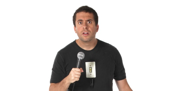 "O comediante Mauricio Meirelles será convidado do ""The Noite"""