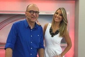 """Birtto Jr. e Ticiane Pinheiro apresentam o """"Programa da Tarde"""""""