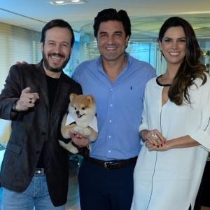Os apresentadores Celso Zucatelli, Edu Guedes e Mariana Leão têm os seus trabalhos comprometidos