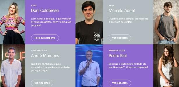 Conversa.Globo é uma plataforma de relacionamento da Rede Globo