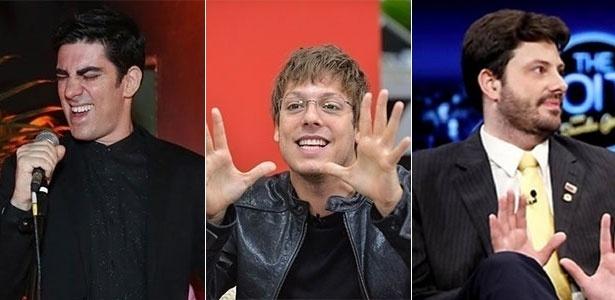 """Adnet, Porchat e Gentili com programas parecidos no """"prime-time"""""""