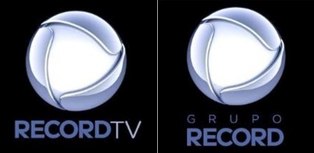 Novos logotipos da Record TV e do Grupo Record