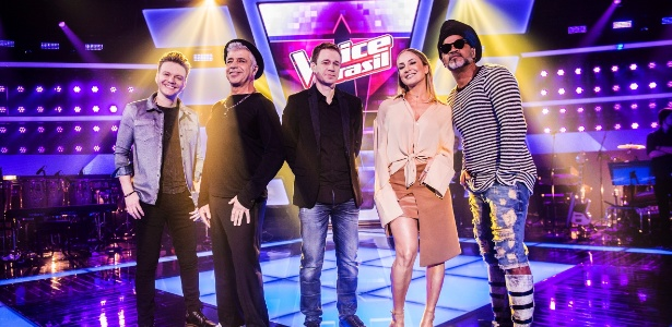 "Teló, Lulu Santos, Leifert, Claudia Leitte e Carlinhos Brown comandam o ""The Voice"""