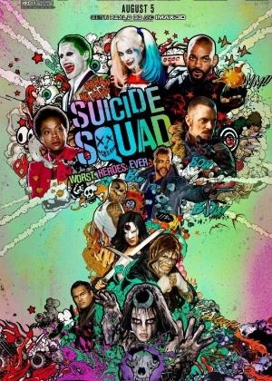 Poster do filme Esquadrão Suicida