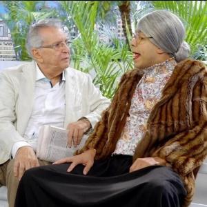 """Carlos Alberto de Nóbrega e Marcius Melhem no """"Tá no Ar"""""""