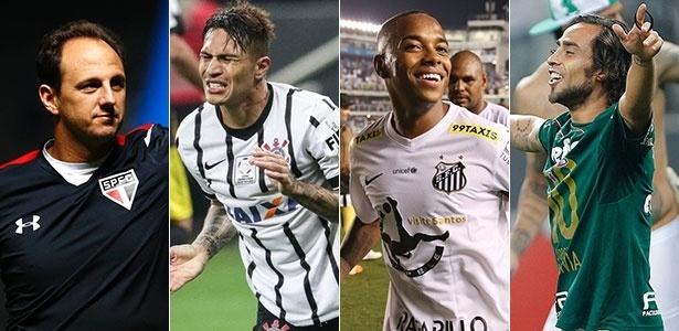 Ceni, Guerrero, Robinho e Valdivia podem, por motivos diferentes, deixar seus clubes