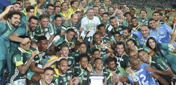 Campeão Palmeiras alcançou recordes na última rodada do Campeonato Brasileiro