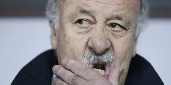 Vicente Del Bosque, técnico da Espanha, diz que não conhece Tite