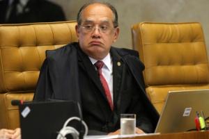 O ministro do STF (Supremo tribunal Federal) Gilmar Mendes durante julgamento de embargos do mensalão